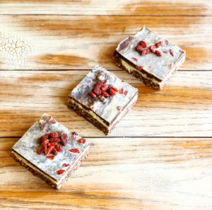 Chocolate & Goji Berries Raw Treat